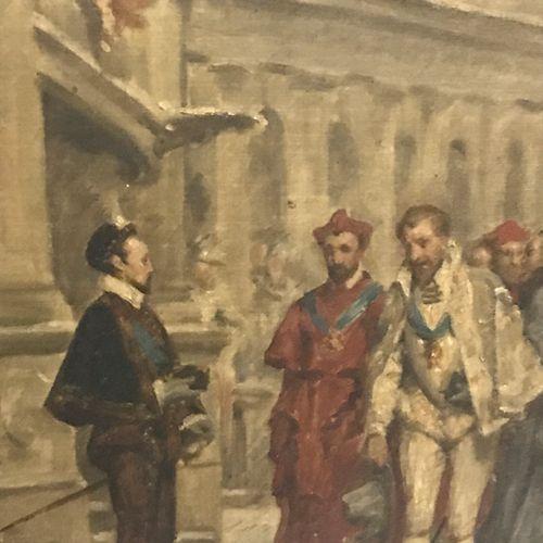 Jules Arsène GARNIER (1847 1889) d'après Pierre Charles COMTE (1823 1895) La ren…