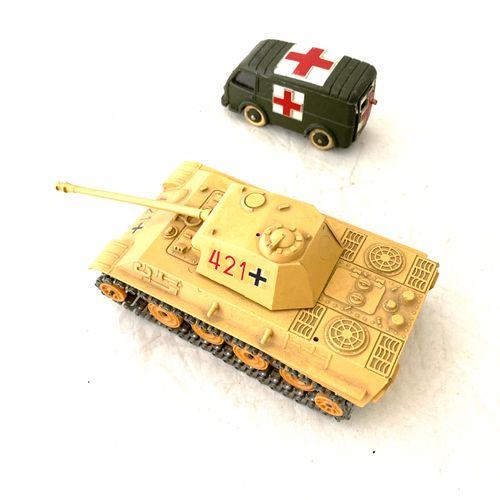 SOLIDO : char Panther G, réf n°236, 11/1973, peinture sable et marquages, on y j…