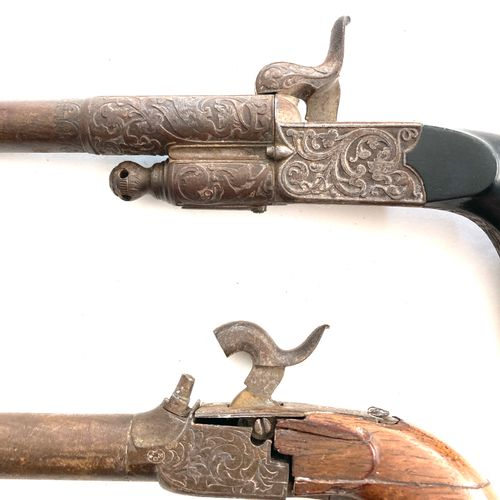 Pistolet à broche, système précoce à canon rotatif, calibre 11 mm, canon de 12,7…