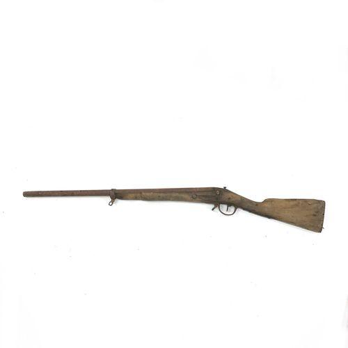 Fusil réglementaire d'infanterie modèle 1777 corrigé an IX, canon ramené à 73 cm…