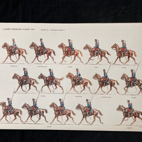 Les éditions Jean AUGET, l'armée française d'août 1914, 1er fascicule, suite de …