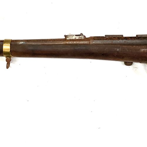 Mousqueton GRAS, calibre 11 mm, boitier marqué Manufacture d'Armes Châtellerault…