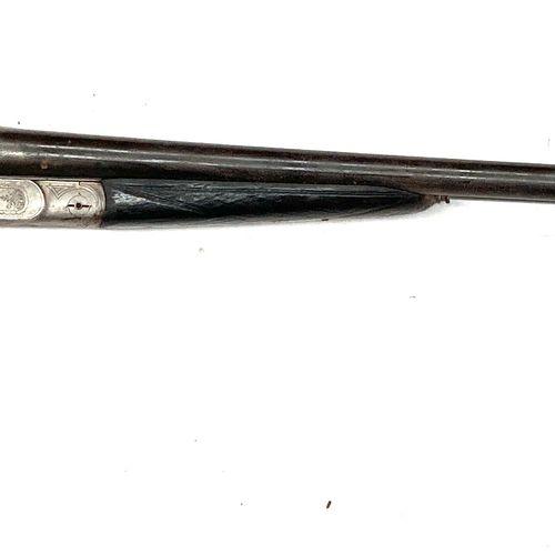 Fusil de chasse, fabrication artisanale stéphanoise, canons juxtaposés de 69,5 c…