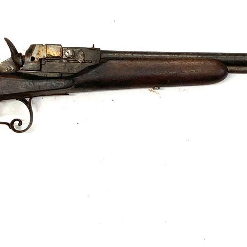 Carabine système Warnant, canons superposés de 59 cm, calibres 6 mm et 9 mm Flob…