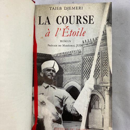 """Suite de sept ouvrages: """"Le maroc héroïque"""", """"Barroud d'Honneur"""", """"La course à l…"""