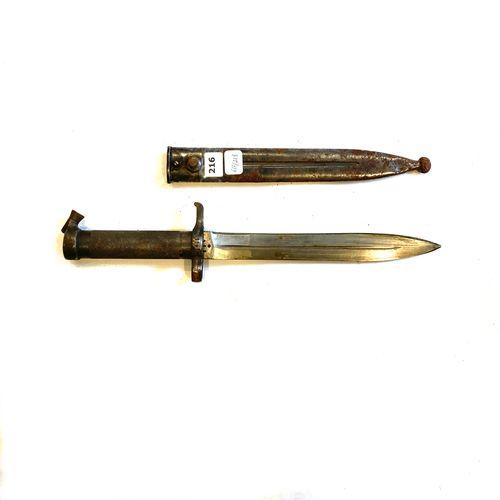 Baïonnette suédoise modèle 1896, lame de 21 cm, marquée C couronné (arsenal de C…