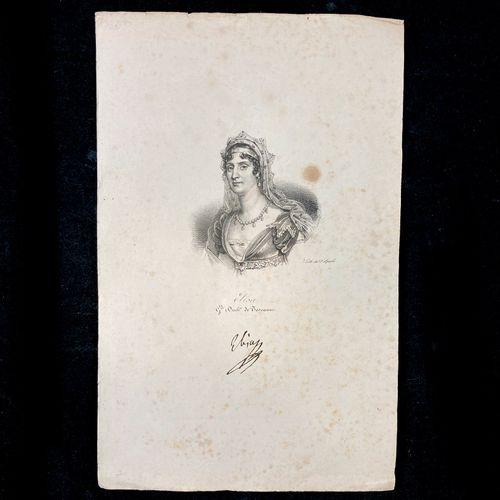 Imprimerie Lithographique de Delpech. Suite de 10 portraits de personnages polit…