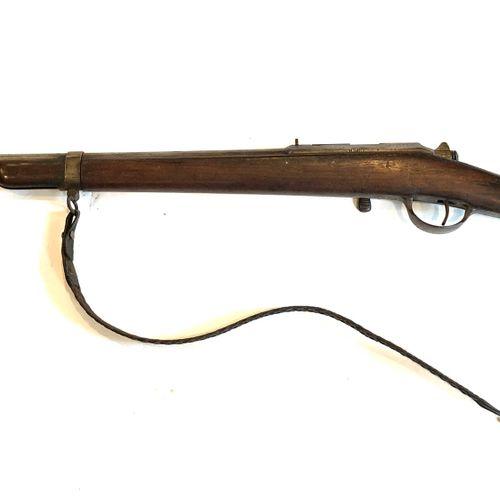 Fusil GRAS modèle 1874 transformée chasse, boitier marqué Manufacture d'Armes St…