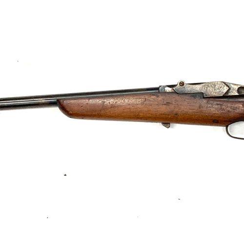 Carabine de chasse mono coup système DAMON calibre 12 mm, canon de 65 cm, LT 106…