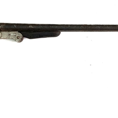 Fusil pliant calibre 12 65, percussion centrale par chiens extérieurs, ouverture…