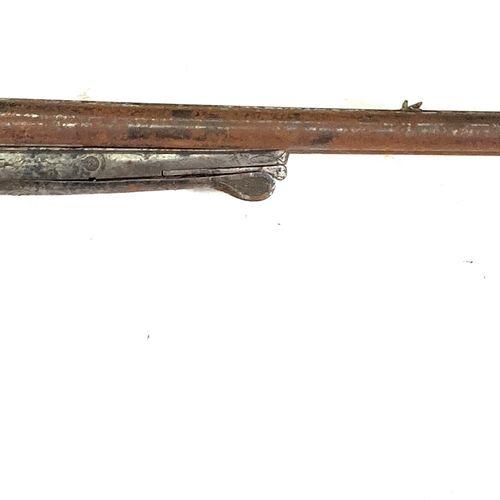 Peu courant fusil de chasse à percussion centrale par chiens extérieurs, canons …