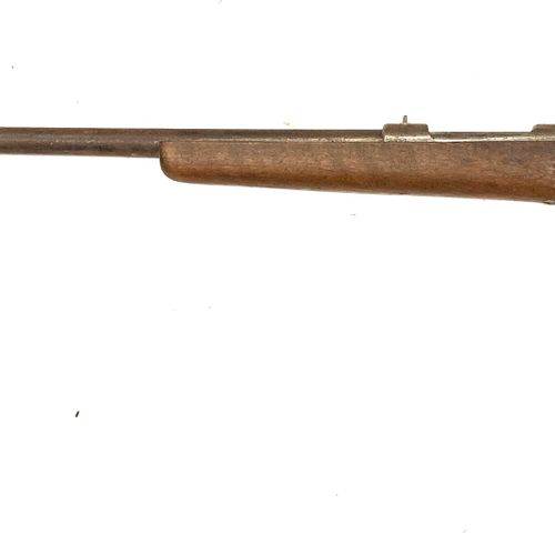 Carabine de chasse mono coup, système d'armement rectiligne, calibre 9 mm Flober…