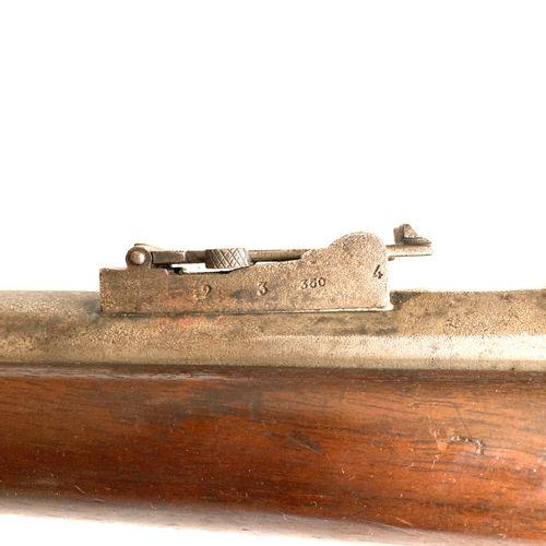 Fusil Chassepot modèle 1866, canon rayé de 83 cm, avec hausse, guidon et directr…