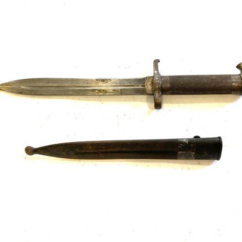 Baïonnette suédoise modèle 1896, lame de 21 cm, marquée EJA (arsenal de Eskilstu…
