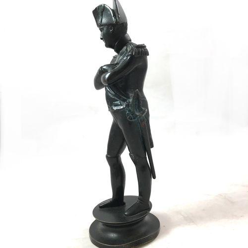 James PRADIER (1790 1852) d'après. Napoléon Bonaparte en costume d'officier. Bro…