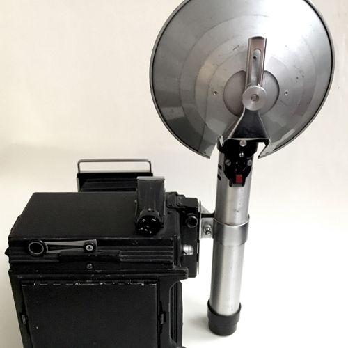 CAMERA. Speed Graphic, Graflex kalart synchronized range finder, USA, years 1945…