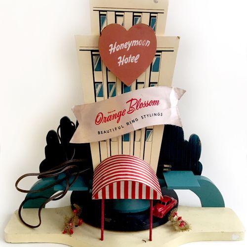 3 ADVERTISING DISPLAYS USA. Honeymoonhotel orange blossom beautiful ring styling…