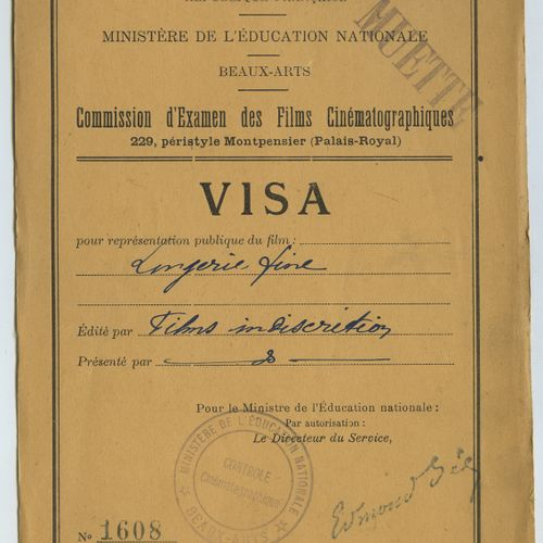 VISA FORMS. About 50 pre printed visa forms, with handwritten mentions of stamps…