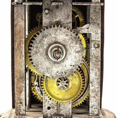 Wall clock Germany, early small model, height 20 cm.