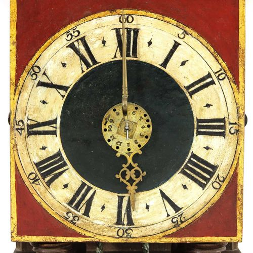 A Dutch Wall Clock signed Hendrik Ruempol Laren 1754, height of the clock is 37 …