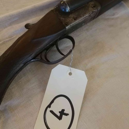 Fusil juxtaposé ST ETIENNE Cal. 16 n°2579