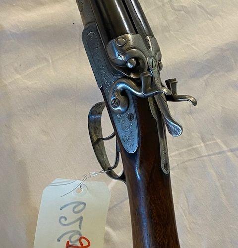 Fusil ST ETIENNE juxtaposé à chiens Cal.16 platine n°4520