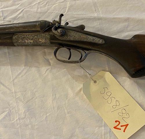 Fusil PRIMA FLUSS STAHL Juxtaposé à chiens Cal. 16 Numéro 753690