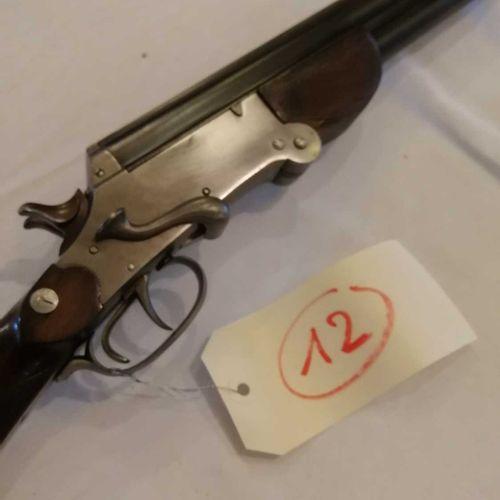 Fusil Belge à chiens Cal. 20 Superposé Ouverture queue de serpent n°269