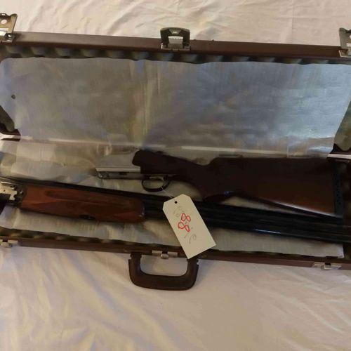 Fusil CASTELLANI Trap Cal.12 Batterie détachable n°53632 état neuf