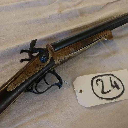 Fusil juxtaposé LE FAUCHEUX Cal. 16 n°47A 63A