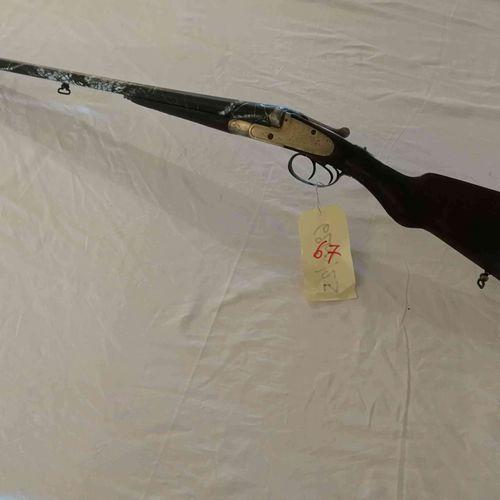 HELICE rifle juxtaposed false body Cal.16 Canon camo n°2760