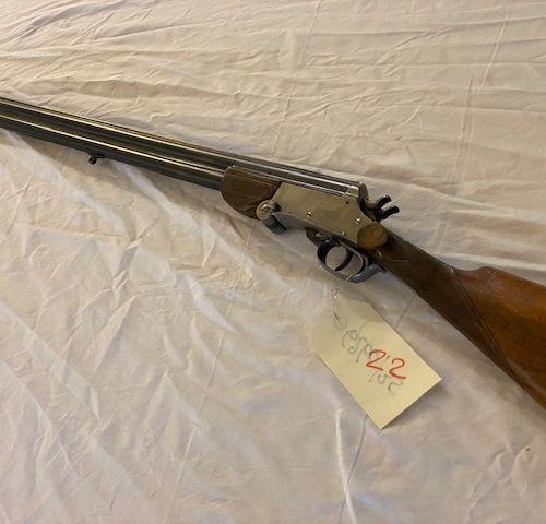 Fusil superposé Belgique Cal.20 n°262 Bois Grade 4 Devant 3 pièces