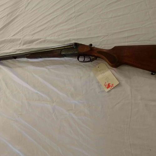 Rifle TW SUHL Juxtaposed n°09976 Cal. 12/70 Certified Good condition N°875464