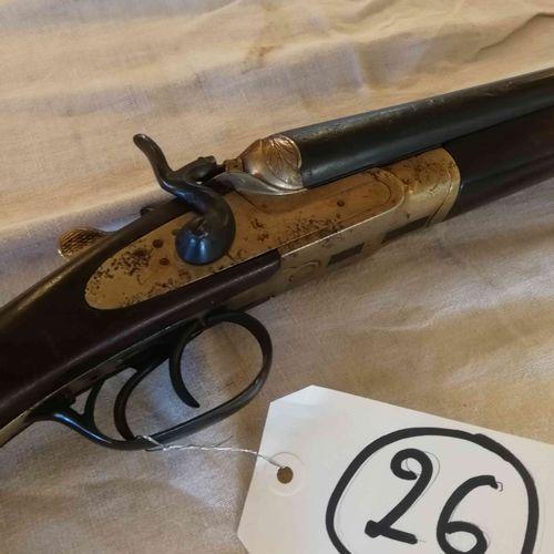 带锤子的并列式步枪 Cal. 16 n°4746