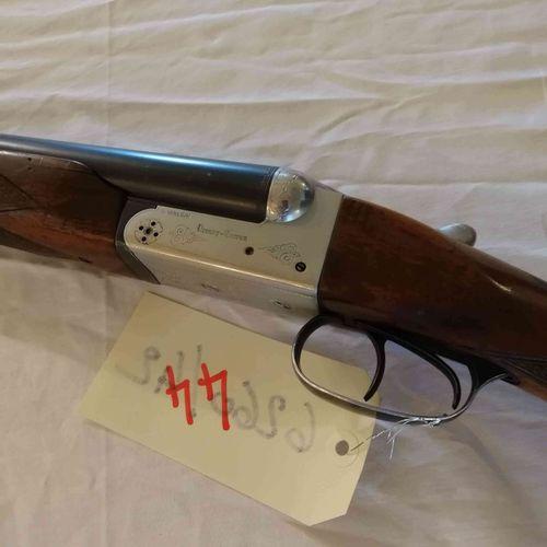 Fusil VERNEY CARON juxtaposé Cal.12 Pionnier Canon 76 devant enveloppant n°10857…
