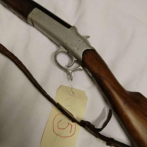 Fusil ancien à chien 1 coup SIMPLEX Cal. 12 St Etienne n°73478