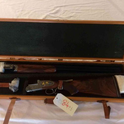 Fusil SARRIUGARTE superposé à platine Cal.12 Platines démontables à la main Mono…
