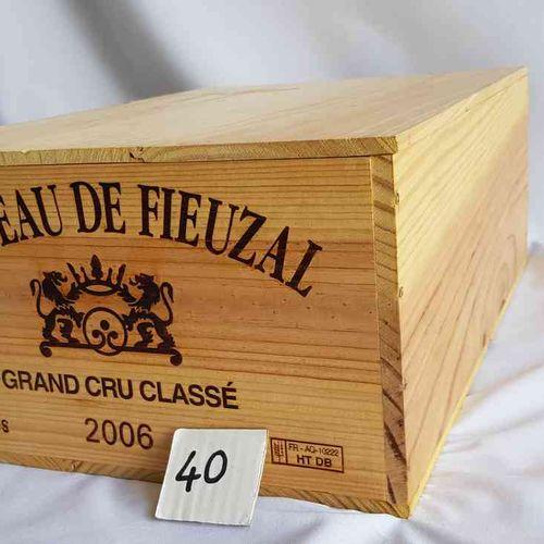 12 bouteilles château FIEUZAL 2006 GCC PESSAC LEOGNAN , CBO, Bon stockage.