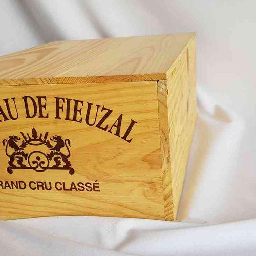 12 bouteilles château FIEUZAL 2008 GCC PESSAC LEOGNAN , CBO, Bon stockage.