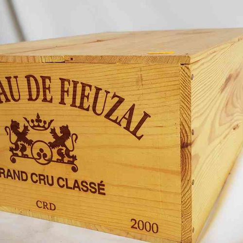 12 bouteilles château FIEUZAL 2005 GCC PESSAC LEOGNAN , CBO, Bon stockage.