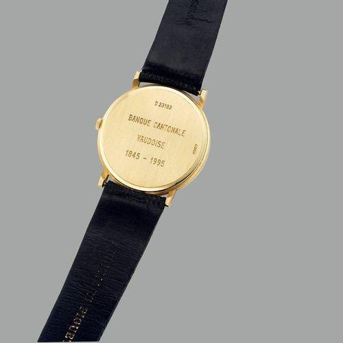 AUDEMARS PIGUET Une belle montre bracelet en or jaune, réalisée pour commémorer …