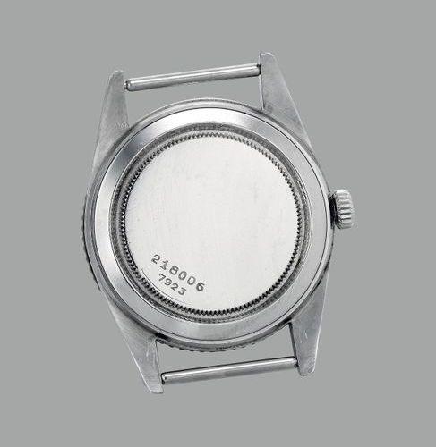 TUDOR Une montre bracelet en acier inoxydable extrêmement rare et attrayante ave…