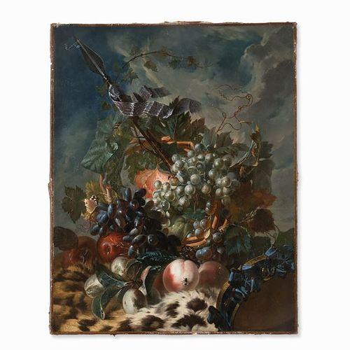 Miguel Parra (1780/84 1846), Still Life with Fruit & Lance, Oil | Miguel Parra (…