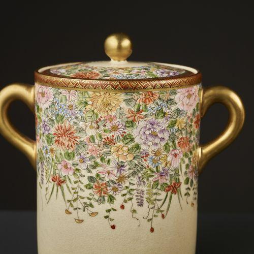 11 PART SIGNED SATSUMA TEA SET 11 PART SIGNED SATSUMA TEA SET Japan, Meiji perio…