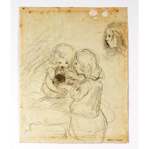 Joseph Danhauser (1805 1845) Joseph Danhauser (1805 1845) – pencil study for the…