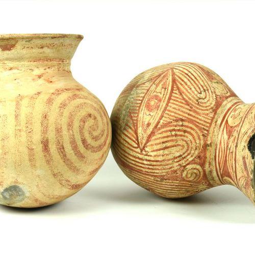 DUE VASI BANG CHIANG DATAZIONE: 600 300 a. C. MATERIA E TECNICA: argilla depurat…