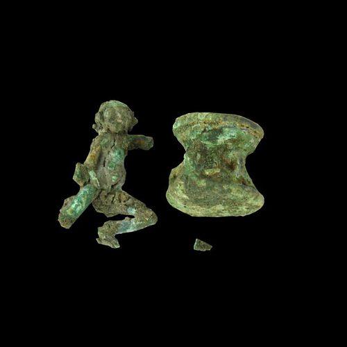 STATUETTA DATAZIONE: 600 300 a. C. MATERIA E TECNICA: bronzo fuso e cesellato St…