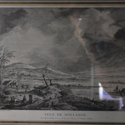 D'après Philips WOUWERMAN (1619 1668) et gravé par Charles Nicolas II COCHIN (17…