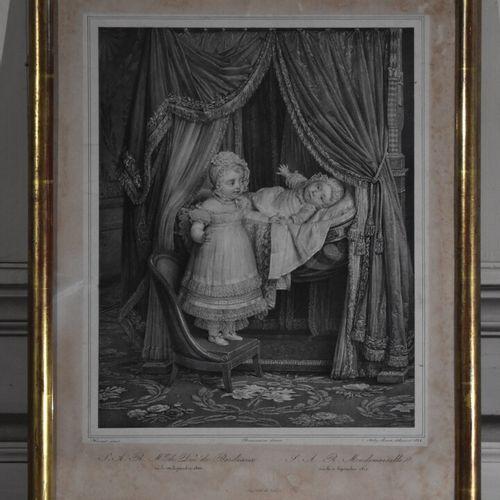 Hyacinthe Louis V. AUBRY LECOMTE (1787 1858)  S.A.R. Mgr le Duc de Bordeau et S.…