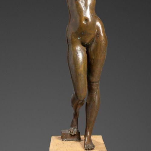 Sealed Bid Auction Sculpture: A bronze figure of a girl holding an apple 3rd qua…